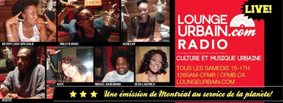 Lounge Urbain Radio Banner