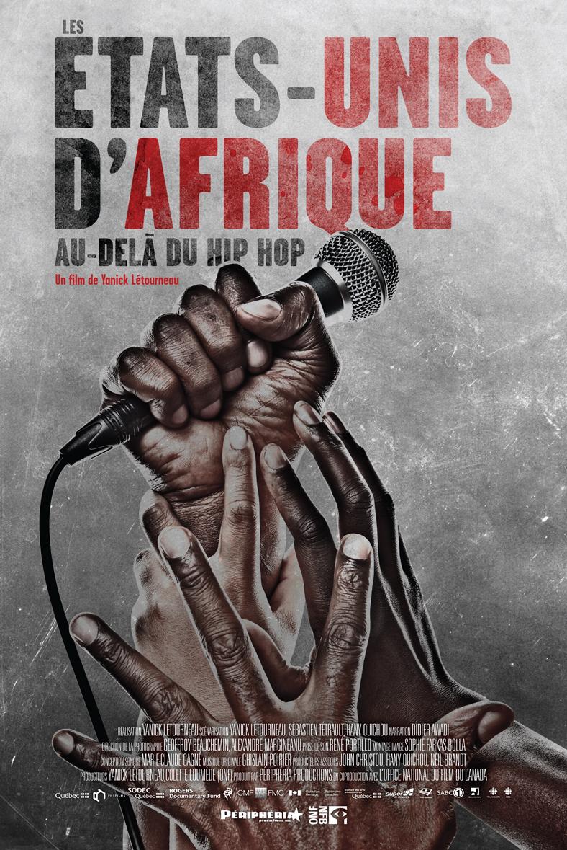 Les États-Unis d'Afrique poster