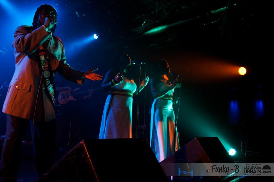 King Shadrock and the Untouchable Band à la finale des Syli d'Or, au Cabaret du Mile-End, le 3 mai 2012 (photo: Funky-B).