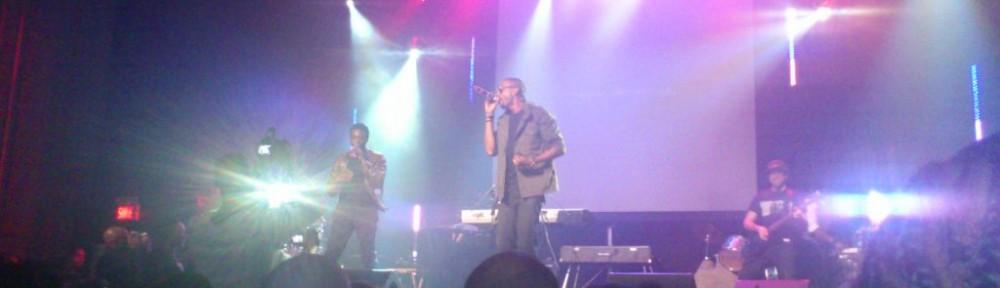 Marco Volcy et Corneille au Montréal Hip Hop Awards 2012