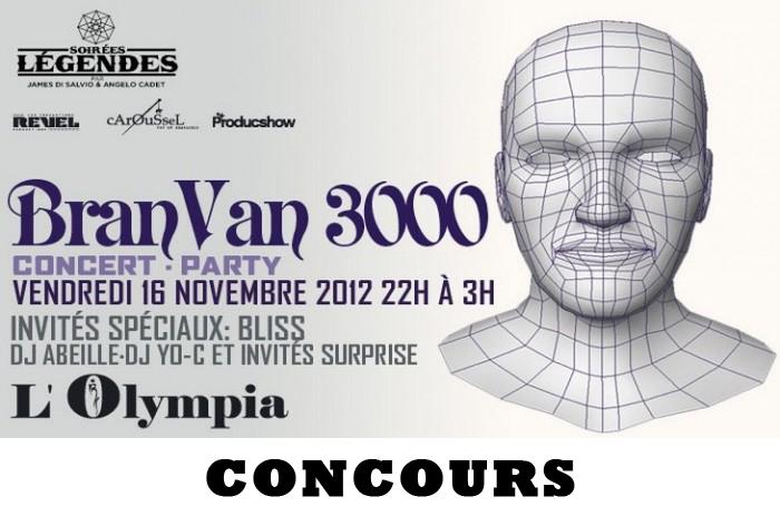 Bran Van 3000 Olympia Concours