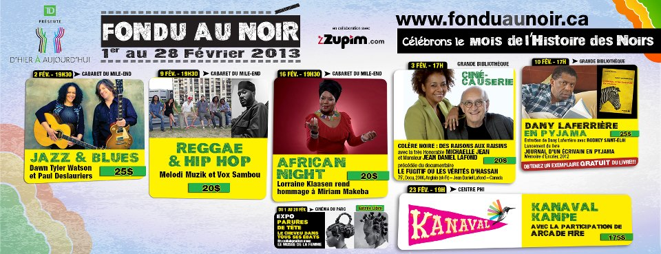 Festival Fondu au Noir