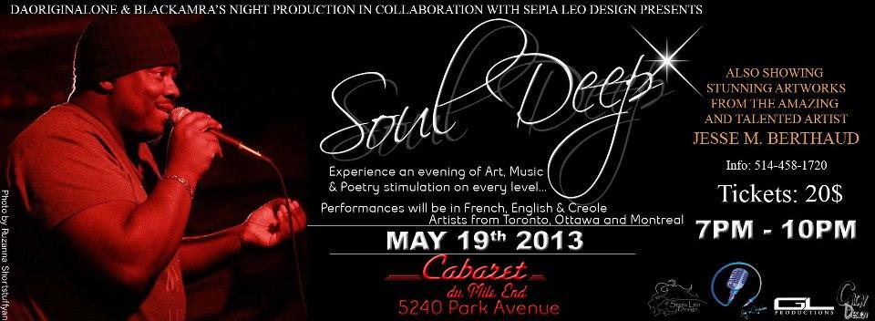 Soul Deep Cabaret Mile-End