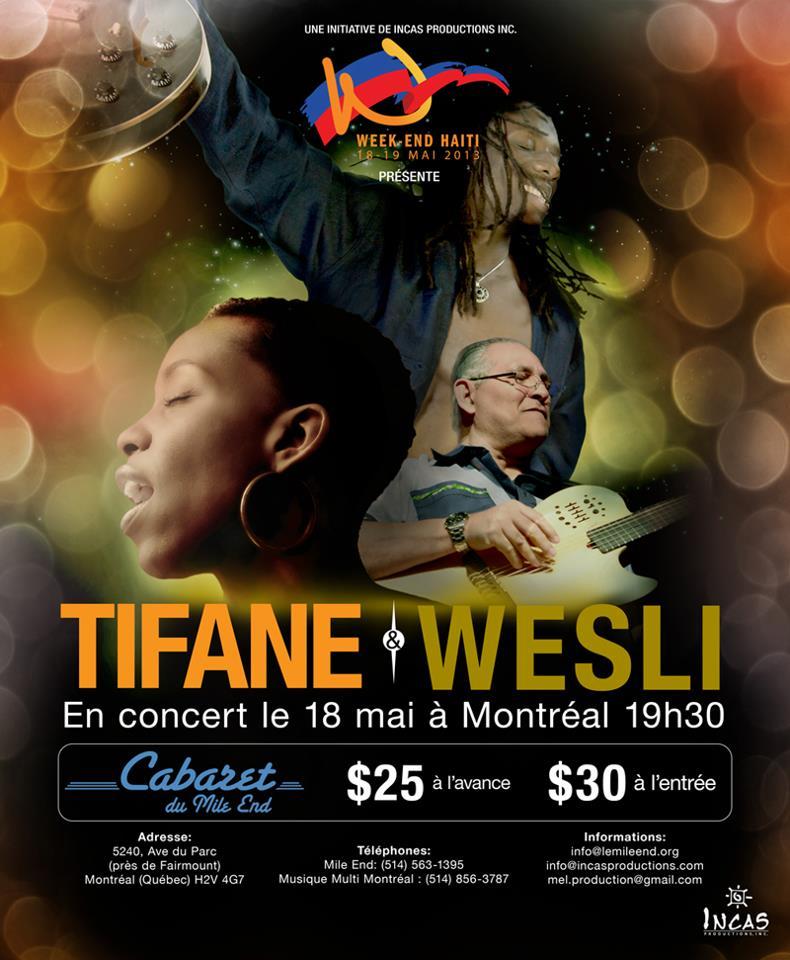 Wesli et Tifane Cabaret du Mile-End