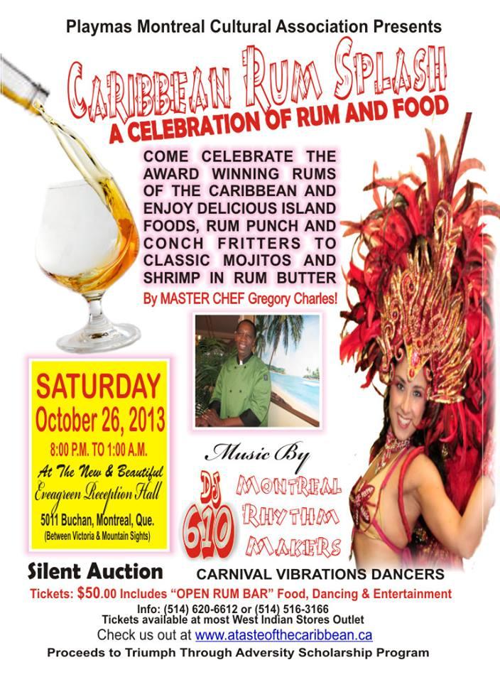 Caribbean Rum Splash