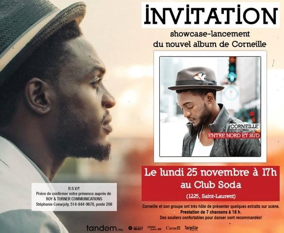 Corneille lancement 2013