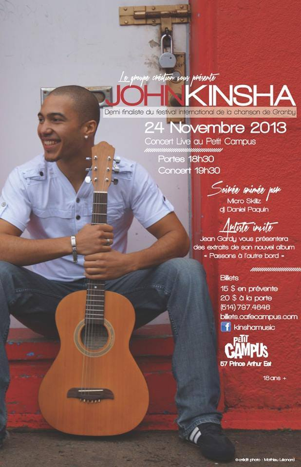 John Kinsha Petit Campus