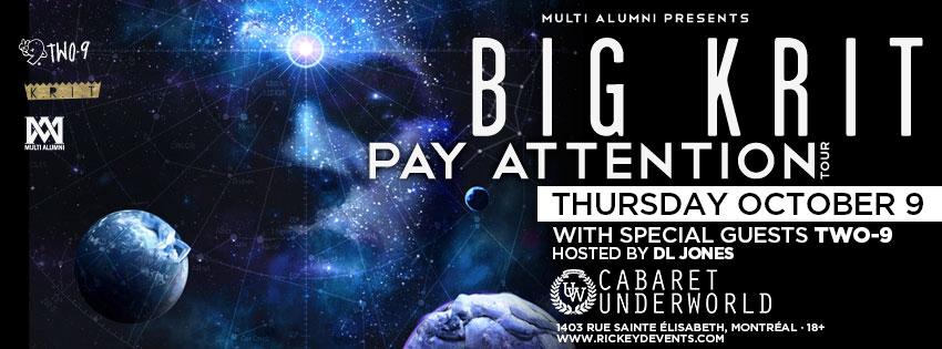 BIG KRIT Cabaret Underworl Lounge Urbain