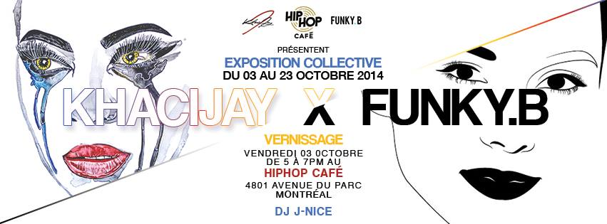 KhaciJay x Funky-B Hip-Hop Café Lounge Urbain