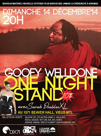 Goofy Welldone One Night Stand Small
