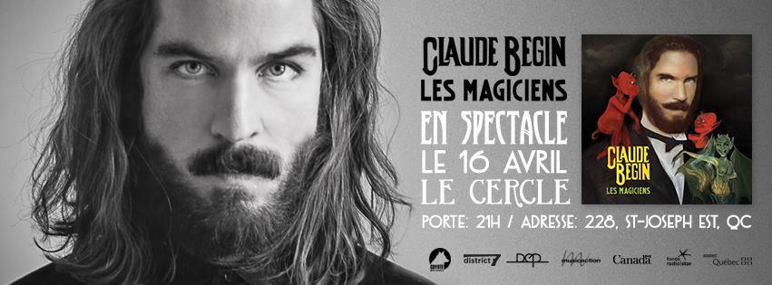 Claude Bégin Spectacle