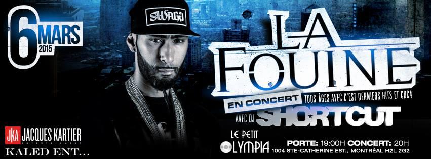 La Fouine Olympia Montreal