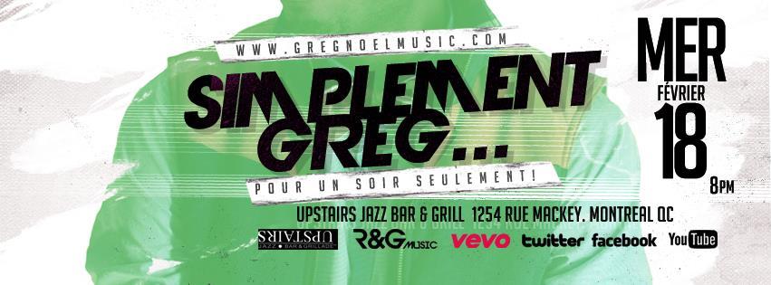 Greg Noel Upstairs Jazz bar