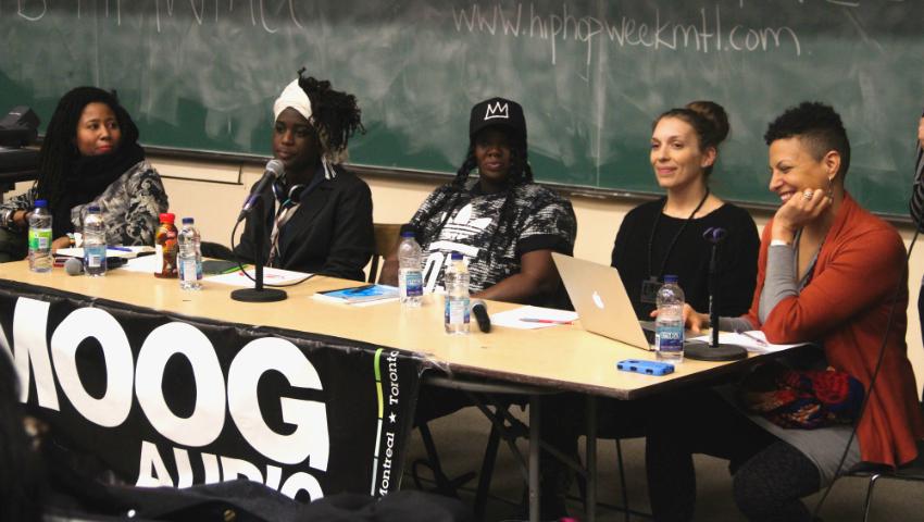women panel hip hop week