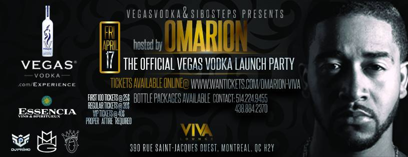 OMARION Viva Lounge Montreal