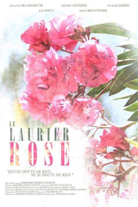 Le Laurier Rose Affiche