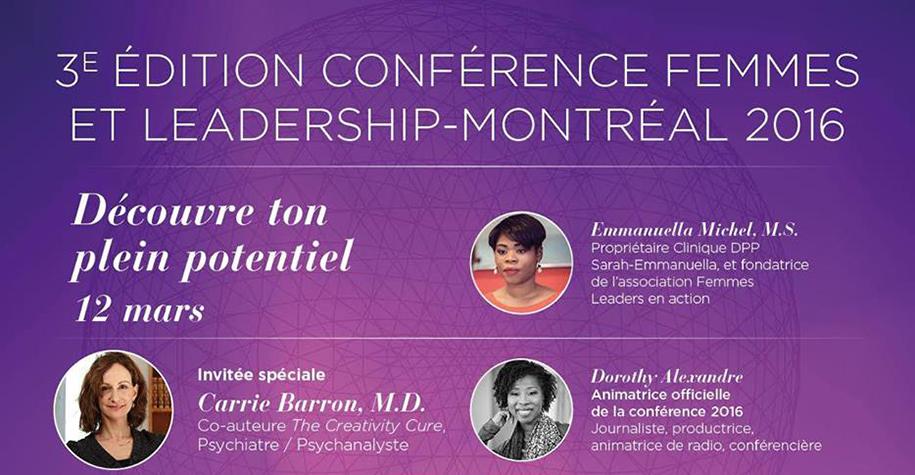 Conference Femmes Leadership 2016