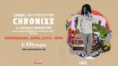 Chronixx Montreal
