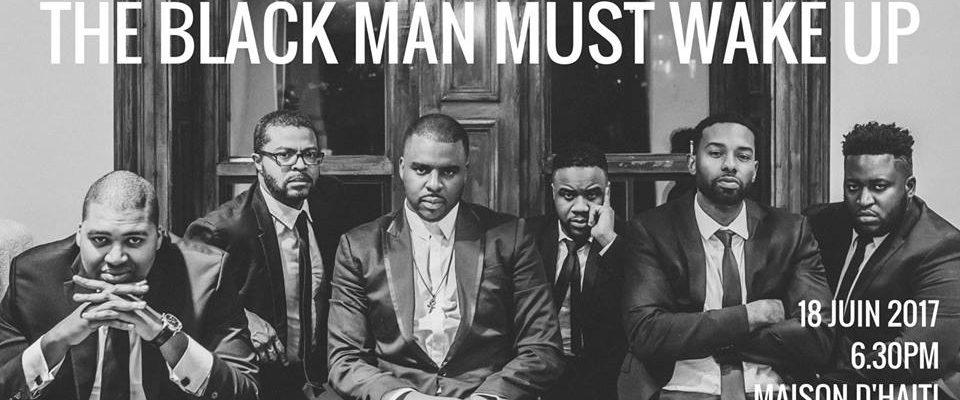 Black man wake up